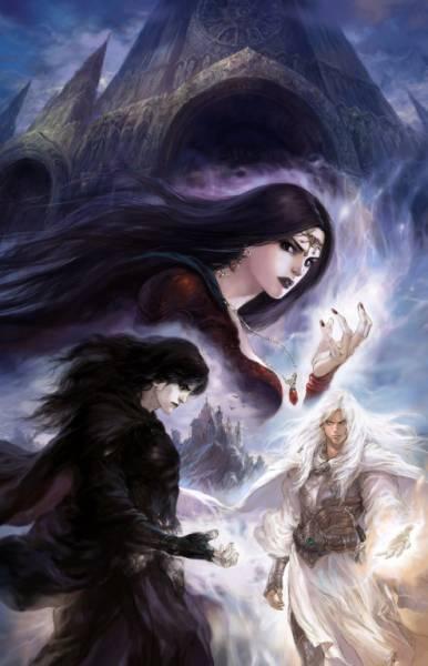 Парень девушка маг ведьма замок